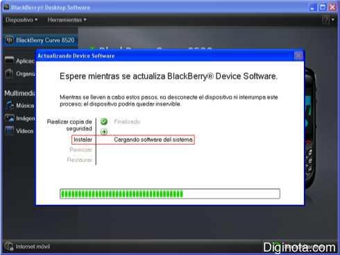 Como Hacer para actualizar el software o Sistema Operativo de un Blackberry con DM 6.0  (Mini-guia + Imágenes) 5