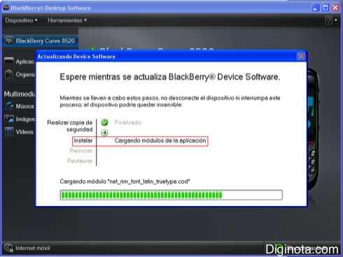 Como Hacer para actualizar el software o Sistema Operativo de un Blackberry con DM 6.0  (Mini-guia + Imágenes) 6