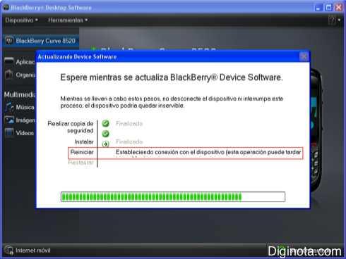Como Hacer para actualizar el software o Sistema Operativo de un Blackberry con DM 6.0  (Mini-guia + Imágenes) 7