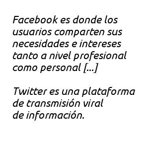 Que diferencias  hay entre redes sociales Facebook y red de contenido Twitter 0