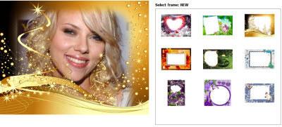 Cómo crear marcos de navidad para tus fotos 3