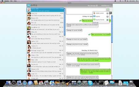 Con mysms puede enviar y recibir mensajes SMS desde tu Notebook , PC, MAC y Tablet  mediante Android 1