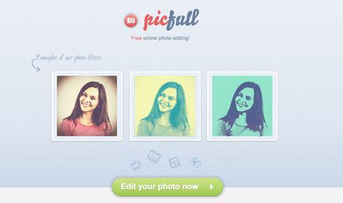 Cómo aplicar filtros o efectos a las fotos gratis y fácil con Picfull 2