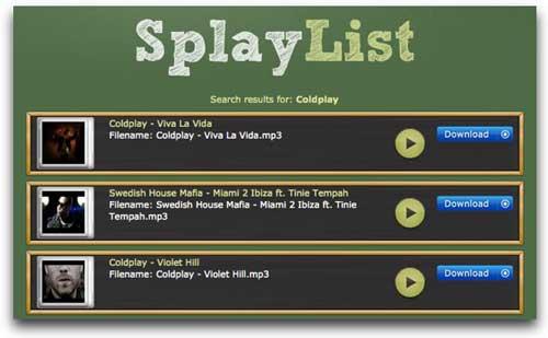 Encontrar y descargar música online gratis con SplayList 0