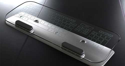 Photo of Teclado y mouse transparentes y multitouch, Simple y genial