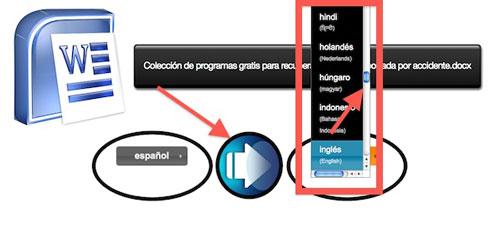 Como Traducir archivos office Word, Excel, PowerPoint y Pdf e en línea seguro, gratis y fácil de usar 1