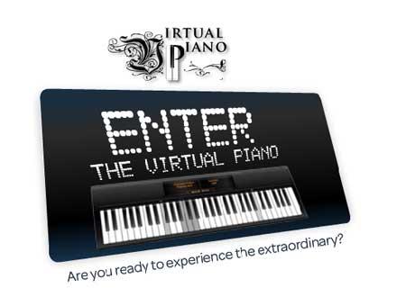 Toca el piano desde la computadora: VirtualPiano 1