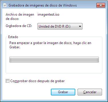 Cómo hacer para grabar un archivo .ISO en windows 7 sin software de terceros en forma nativa 1