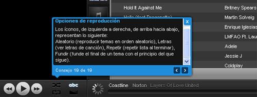 Un reproductor de música online que además de gratis, esta en español y es una buena alternativa a Spotify y Grooveshark  5