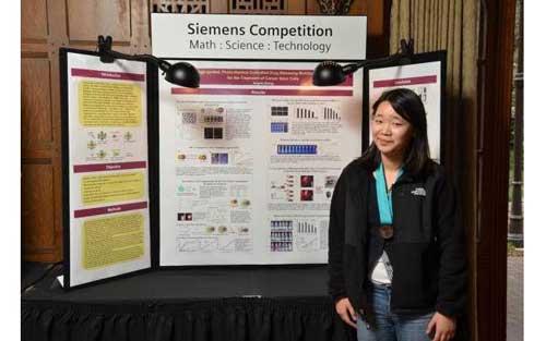 Con solo 17 años una Adolescente diseña nanopartícula que combate el cáncer 1