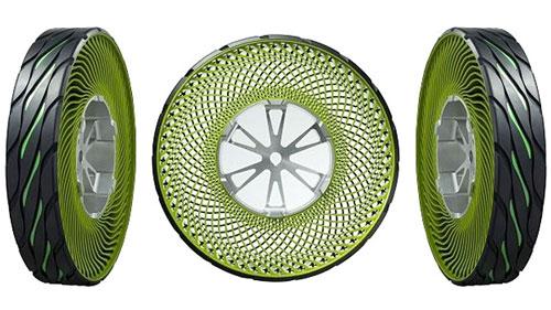 Photo of Conoce el neumático que no se pincha ni necesita ser calibrado