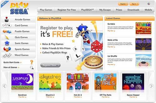 Quieres jugar juegos de SEGA online, aquí puedes PlaySega 12