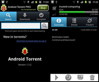 Clientes Torrent para dispositivos Android 1