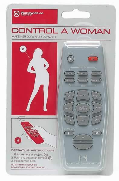 control remoto para mujeres
