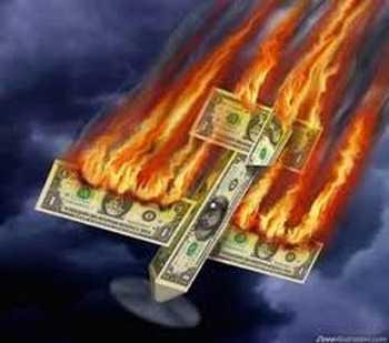Según el portal The Economic Collapse, la economía estadounidense está con el alma en vilo o al borde de la muerte 6