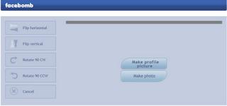 Facebomb personaliza tus fotos de perfil de Facebook 1