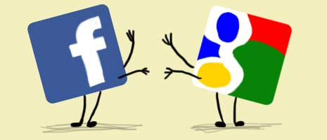 Google VS Facebook en video 1