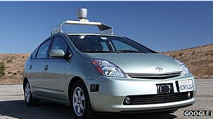 Google patenta un vehículo que no necesitará conductor 2
