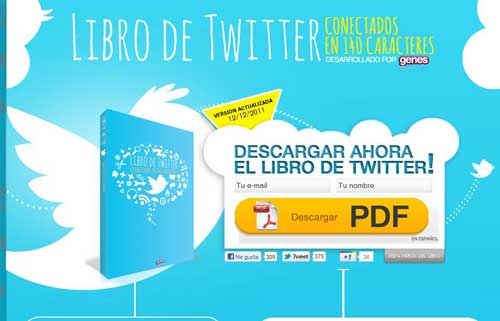 El libro de Twitter edición 2011, la guía gratis para aprender a escribir en 140 caracteres descargado aquí  2