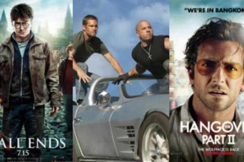 ¿Cuál fue la película más pirateada en Internet el 2011? 1