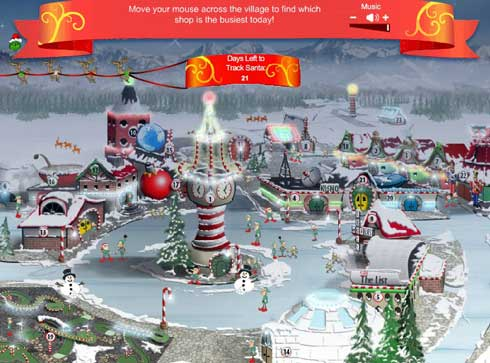 Ni papa Noel o Santa se escapa de Google ahora puedes ver en tiempo real la ruta desde que sale del Polo Norte 0