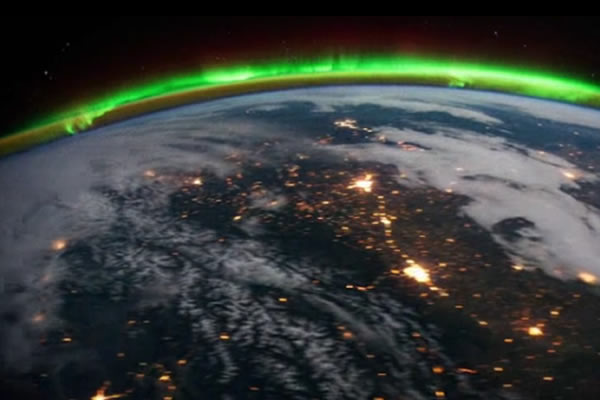 Espectacular video del planeta Tierra desde la estación espacial 1