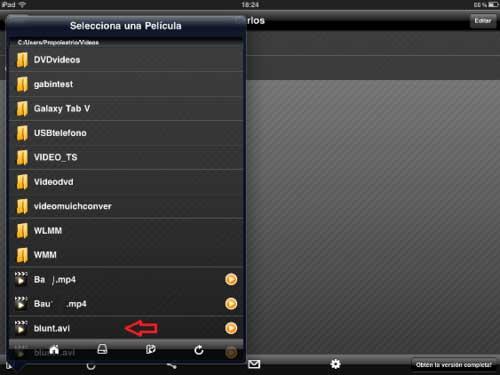 Como ver los vídeos o películas que están en tu ordenador vía inalámbrica desde tu iPhone o iPad 2