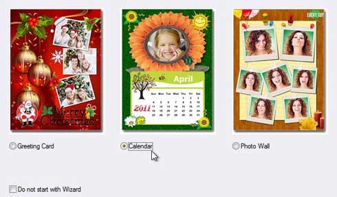 Crear collages, tarjetas de felicitación, calendarios con tus fotos favoritas en apenas unos clics.