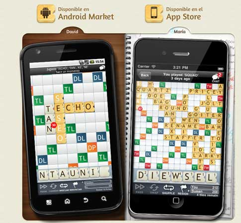 Juego para iPhone y Android similar a scrabble y gratis 0