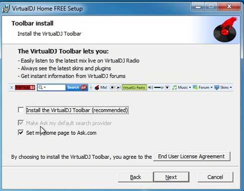 Descarga virtual DJ