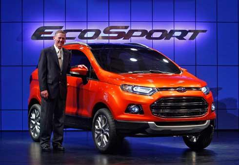 Ford presenta el nuevo modelo EcoSport 1
