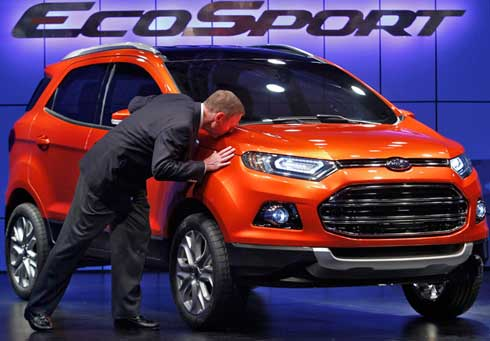 Ford presenta el nuevo modelo EcoSport 3