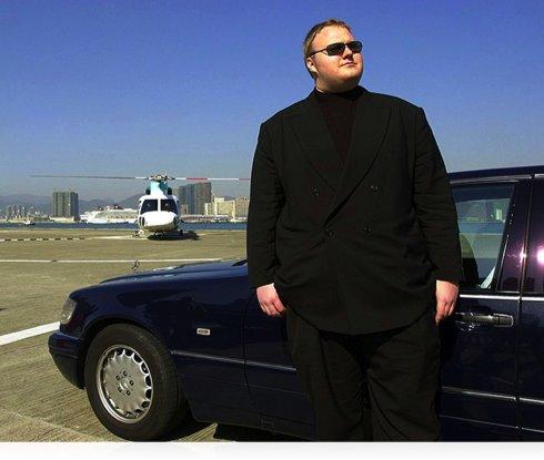 Él es el fundador de MegaUpload y esta su millonaria casa (+fotos e infografía) 1