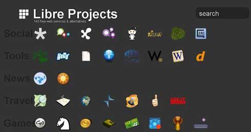 143 herramientas libres,alternativas a las de pago con: Libreprojects.net 1