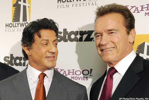 """Stallone y Schwarzenegger se reunirán de nuevo en """"The Tomb"""" 0"""