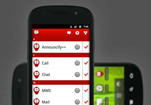 Una genial aplicación para Android que nos lee el contenido de una web: Announcify + video 1