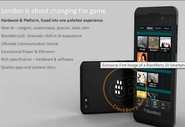 """RIM apuesta todo en el lanzamiento del BlackBerry London un """"Superblackberry"""" 1"""