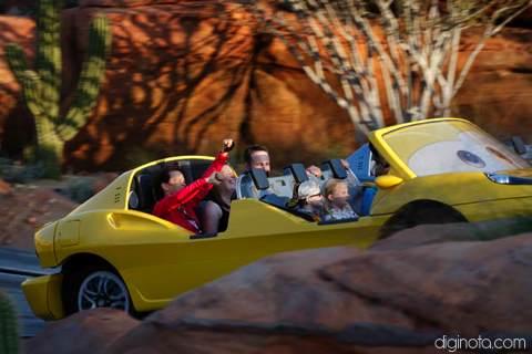 Cars Land el nuevo parque de Disney inspirado en la película del Rayo Mcqueen 4