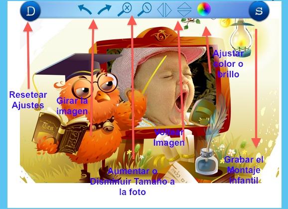 Excelente pagina web para hacer montajes y fotomontajes para bebes y niños fácilmente, gratis¡ 1
