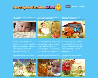 Excelente pagina web para hacer montajes y fotomontajes para bebes y niños fácilmente, gratis¡ 4