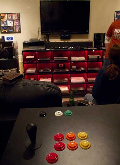 La mejor sala hogareña de videogames 1