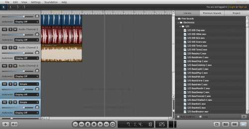 Con Soundation puedes crear música desde tu navegador web 0