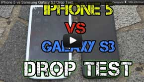 Galaxy S III es humillado frente al iPhone 5 en Pruebas  [VIDEO] 0