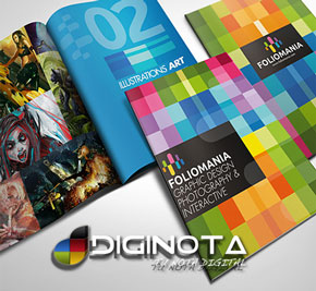 Plantillas de folletos trípticos y dípticos en PSD, Illustrator y Corel mas  brochures 1
