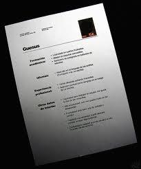 cmo hace un currculum vitae y plantillas o moldes para descargar - Como Hacer Un Resume Para Trabajo