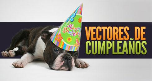 vectores cumpleaños