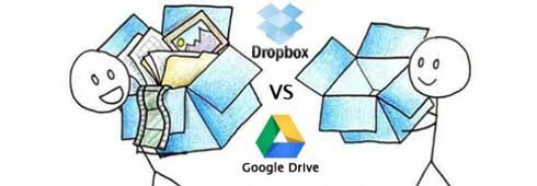 Google Drive Vs DropBox 0