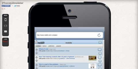 iPhone-5-Simulator