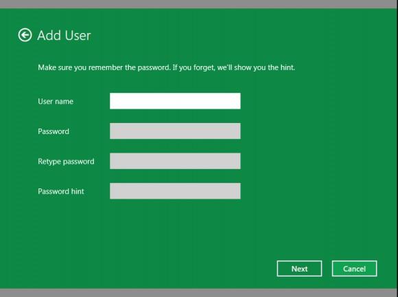 Cómo hacer para crear una nueva cuenta de usuario en Windows 8 paso a paso 4