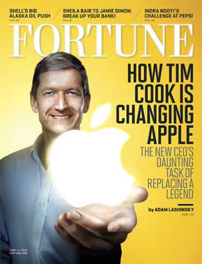 TIM COOK fortune
